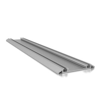Schiebetür bodenschiene  Schiebetür, Bodenschiene zweiläufig, Bodenschieneprofil Aluminium ...