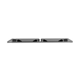 schiebet r bodenschiene dreil ufig aufgesetzt schiebet rprofil aluminium 12 00. Black Bedroom Furniture Sets. Home Design Ideas