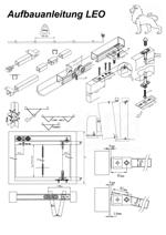 Aufbauanleitung Schiebetür System LEO