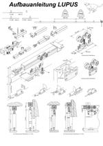 Aufbauanleitung Schiebetür System LUPUS