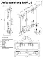 Aufbauanleitung Schiebetür System TAURUS