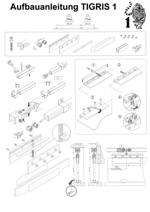 Aufbauanleitung Schiebetür System TIGRIS 1