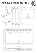 Aufbauanleitung Schiebetür System TIGRIS 2