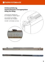 Einbauanleitung automatisches Einzugssystem