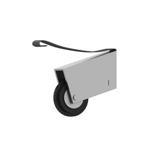 Häufig Rollen Schiebetür, Raumteiler Laufrolle Führungsrolle Laufräder, 8 MO42